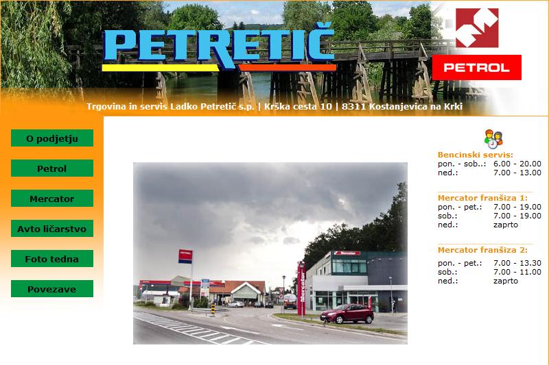 Obišči  http://www.petretic.si