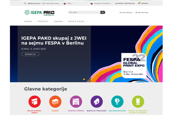 Obišči  https://www.pako.si