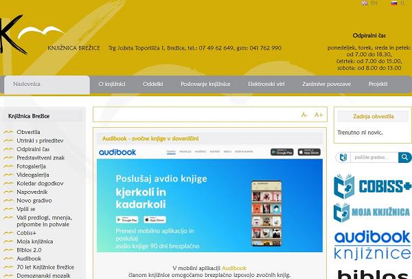 Obišči  http://www.knjiznica-brezice.si
