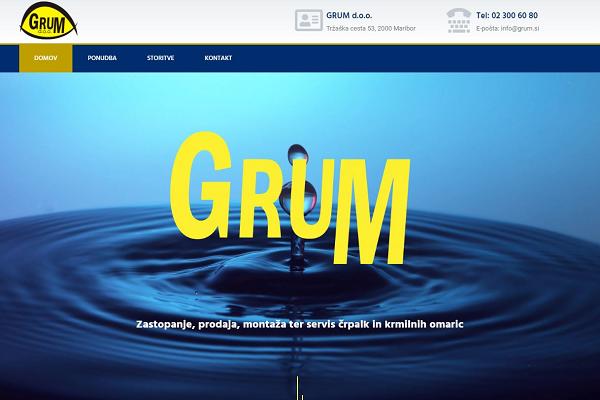 Obišči  http://www.grum.si
