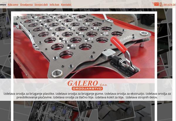 Obišči  http://www.galero.si