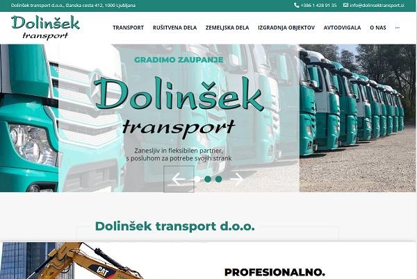 Obišči  https://www.dolinsektransport.si