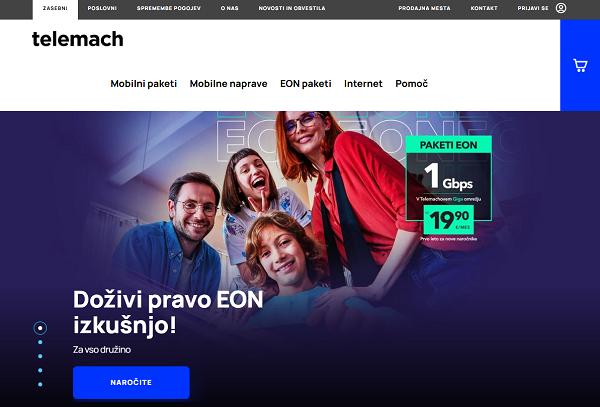 Obišči  https://telemach.si