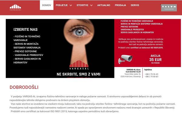 Obišči  http://www.vargas-al.si