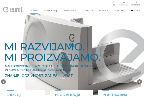 Obišči  http://www.eurel.si