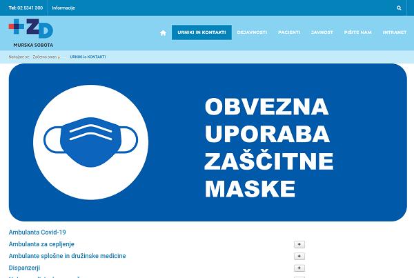 Obišči  https://www.zd-ms.si