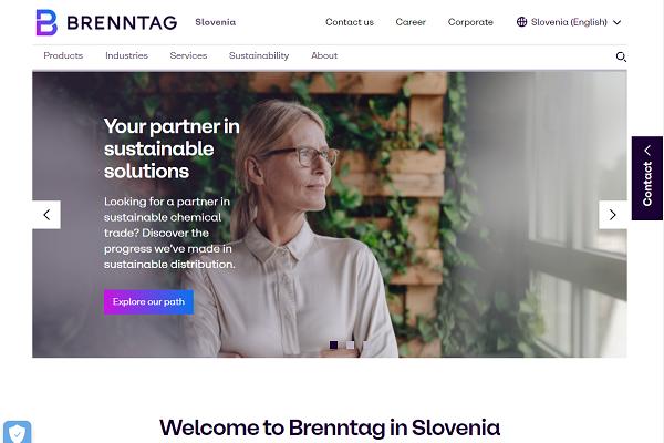 Obišči  http://www.brenntag.si