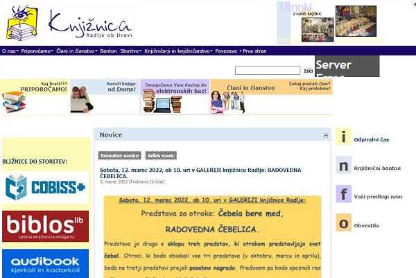 Obišči  http://www.knjiznica-radlje.si