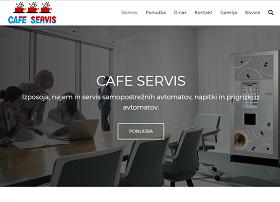 Obišči  http://www.cafeservis.si