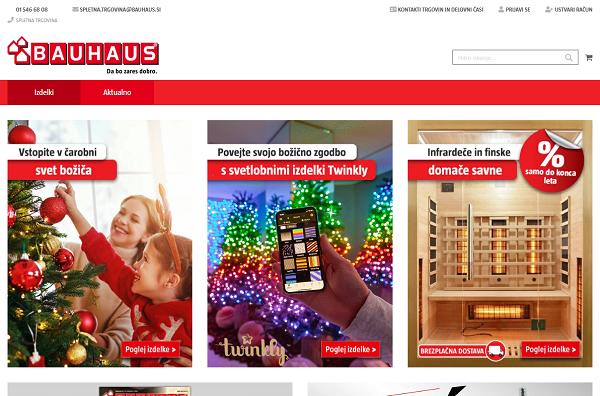 Obišči  http://www.bauhaus.si