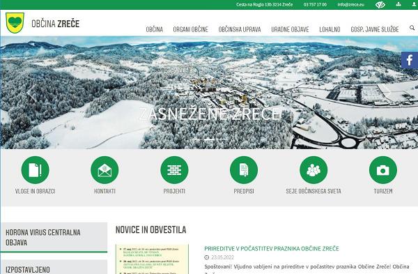 Obišči  https://www.zrece.si