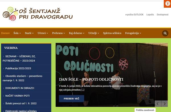 Obišči  http://www.os-sentjanz.si
