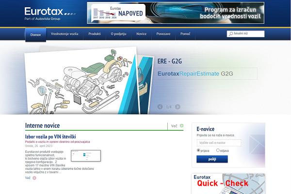 Obišči  http://www.eurotax.si