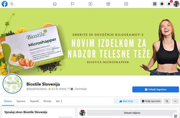 Facebook - OBIŠČI NAŠO STRAN