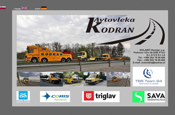 Obišči  http://www.kodran.si