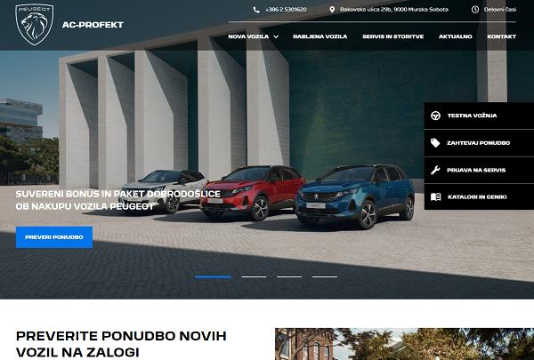 Obišči  http://www.prodajalec.peugeot.si/ac-profekt