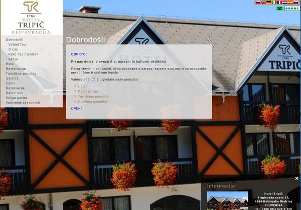 Obišči  http://www.hotel-bohinj.si