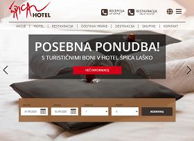 Obišči  https://hotelspica.com