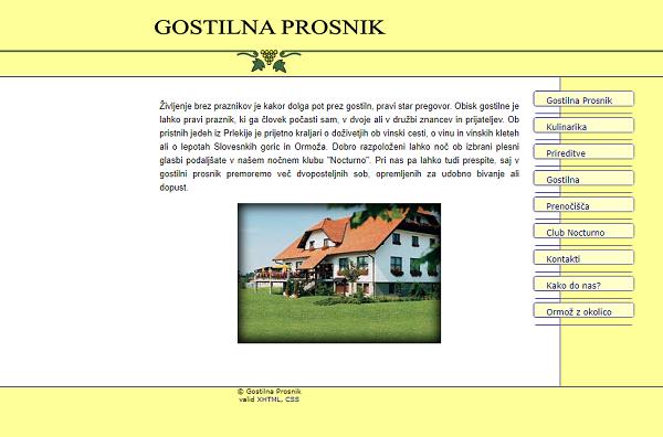 Obišči  http://www.gostilna-prosnik.si