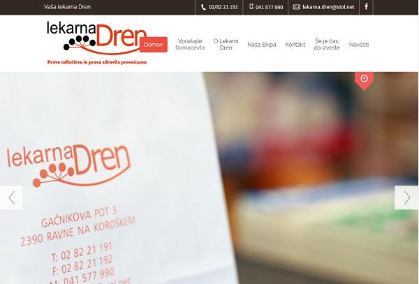 Obišči  http://www.lekarna-dren.si
