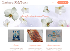 Obišči  http://www.cvetlicarna-malafloramy.si