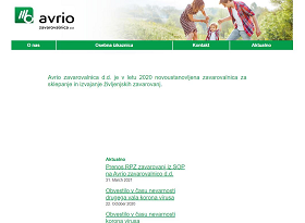 Obišči  https://www.avrio.si